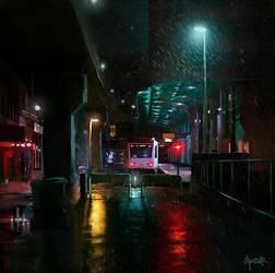 Tram Endstation by tonyskeor