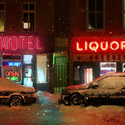 Liquor Store by tonyskeor