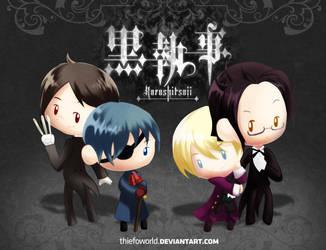 Kuroshitsuji:Lords and Butlers by Thiefoworld