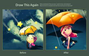 Draw this again: In Wonder by Thiefoworld