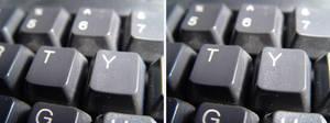 Keyboard STEREOSCOPIC PICS by QuiGonJediJinn
