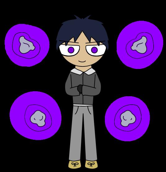 Dustin : azumaku style by PaulaLee2697