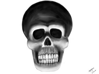 Sketch A Skull by kulaptoy