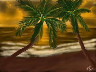 SKTECH A PALM TREE by kulaptoy