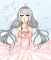 Be my Valentine... [Speedpaint] by Melo-Cake