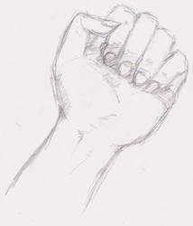 Handsketch. by j00liusCaesar
