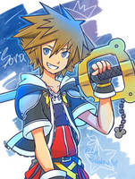 ''That's the power of the keyblade!'' by BlueRainbow101