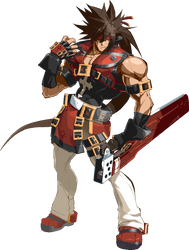 GGXRD REVELATOR SOL BADGUY FILTER RENDER by Diegoutetsuma