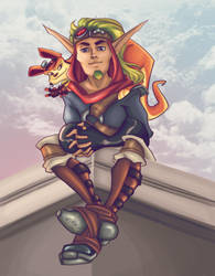 [Raffle Prize]: Jak and Daxter by Farorest