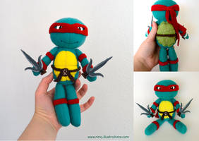 Raphael Ninja Turtle by Dragons-Garden