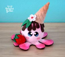 ChocoBerry Icecream Squiddy by Dragons-Garden
