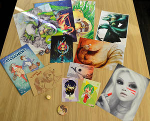 FACTS 2014 loot by Dragons-Garden