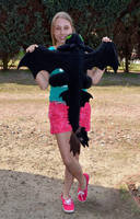 Femke and Toothless (How to train your Dragon) by Dragons-Garden