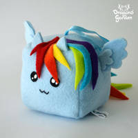 Rainbow Cube - Rainbow Dash My Little Pony by Dragons-Garden
