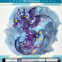 Galaxy Dragon by Dragons-Garden