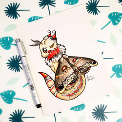 Dragons' Garden - Smaugust 1 Moth Dragon by Dragons-Garden