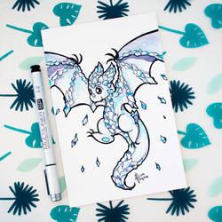Dragons' Garden - Smaugust 3 Ice Wyvern by Dragons-Garden