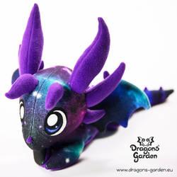 Dragons' Garden - Quasar Dragon Custom Plush by Dragons-Garden