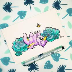 Dragons' Garden - Smaugust 5 Bumblebee Dragon by Dragons-Garden