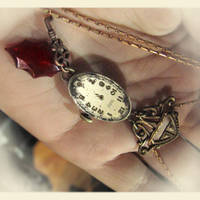 Soft Power Steampunk Necklace by asunder
