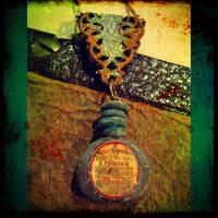 Poison Bottle Necklace 2 by asunder