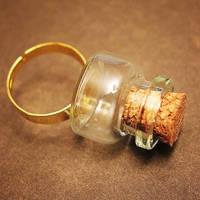 Miniature Bottle Ring by asunder