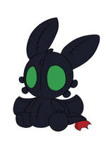 Toothless Plushie by LeniProduction