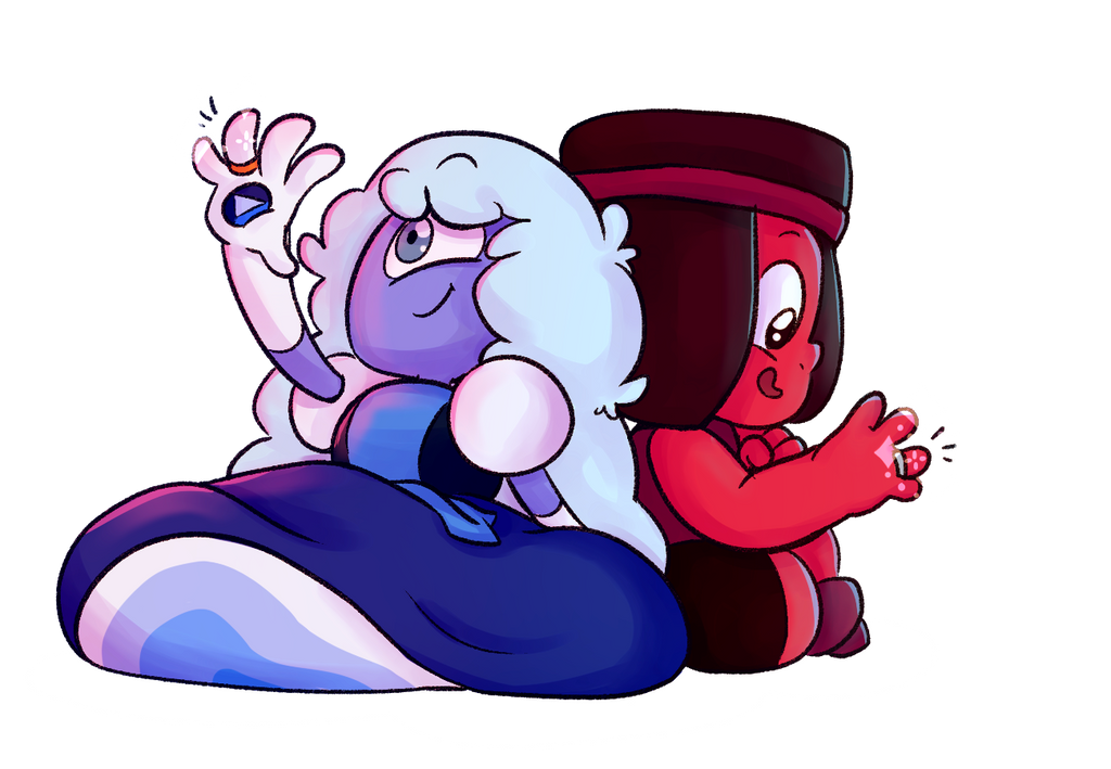 Eeeeeeeeeh arn't they the cuuuutest ;u; I am so hyped xD Steven Universe(c)Rebecca Sugar/Cartoon Network