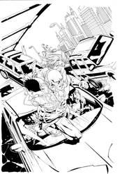 Flash Cover 3 by aethibert