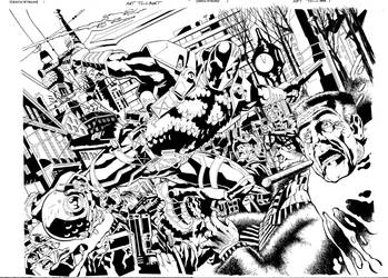 Deathstroke Issue 1 Page 2-3 by aethibert