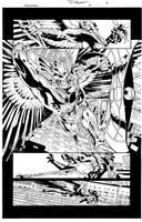 Savage Hawkman Issue 9 Page 6 by aethibert
