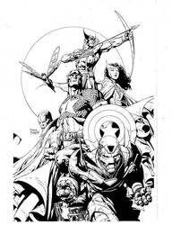 Avengers promo by aethibert