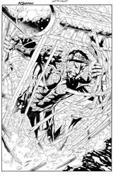 Aquaman Cover by aethibert