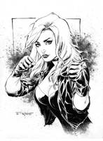 Black Canary Commission by aethibert