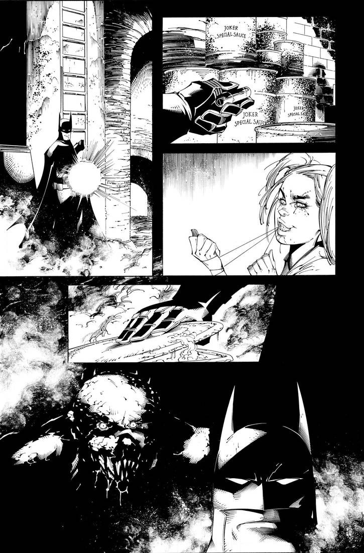 Batman AK issue 5 page 10 New inks by aethibert