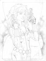 WIP - Black Widow by aethibert