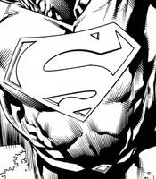 Action comics Issue 961 inks by aethibert