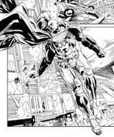 Action Comics: Rebirth 961 Inks by aethibert