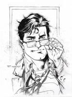 Clark Kent for Comic Con Revolution 2017 by aethibert