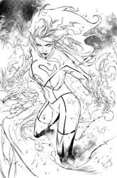 Superwoman page 3 by aethibert