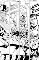 Action Comics #994 finishes over Dan Jurgens by aethibert