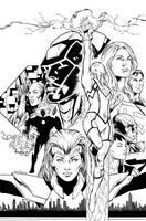 Superwoman cover by aethibert