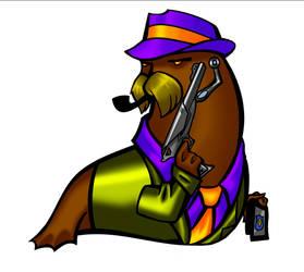 Agent Walrus. by PoweredByCokeZero