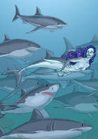 Sharkmaid by PoweredByCokeZero