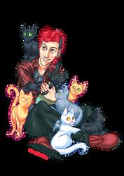 Cats by PoweredByCokeZero
