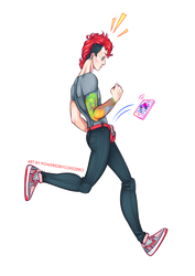 Josh Runs by PoweredByCokeZero