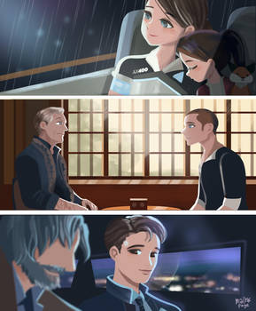 Detroit Become Human  by minkyme068