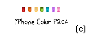 iPhone Color Pack ( Bannedstory Custom ) by xGocool3