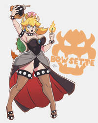 Bowsette! by TerryAlec