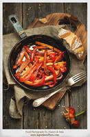 Grilled Peppers by Studioxil